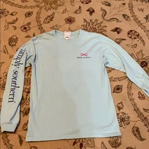 Simply Southern Long Sleeve T Shirt Size Small